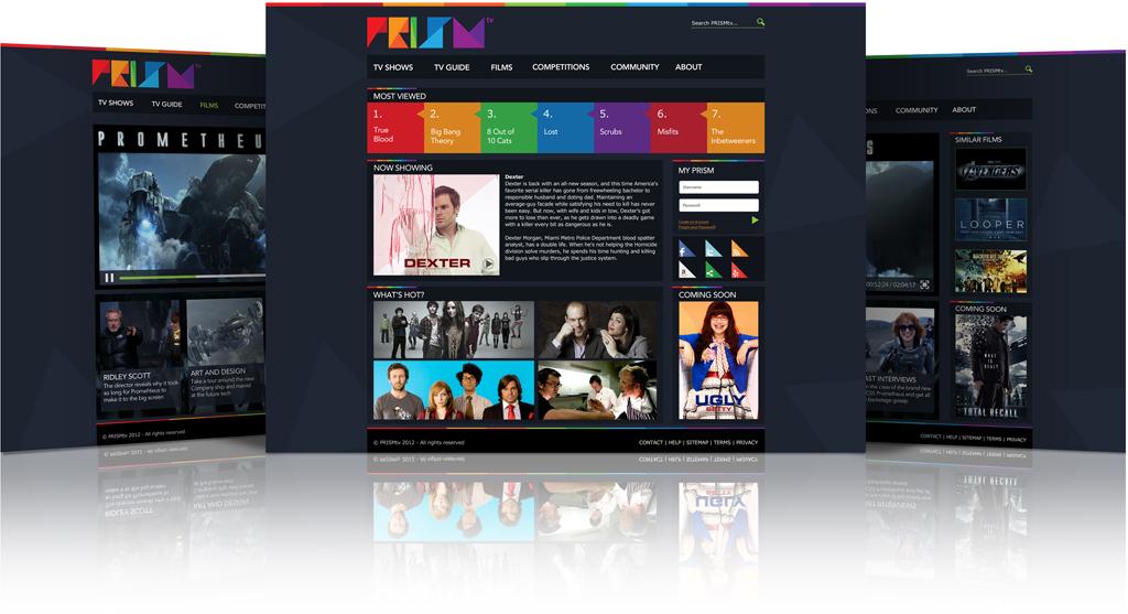 PRISM Online TV