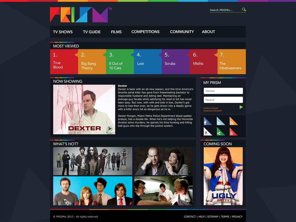 PRISMtv Home Page - Philip Norris
