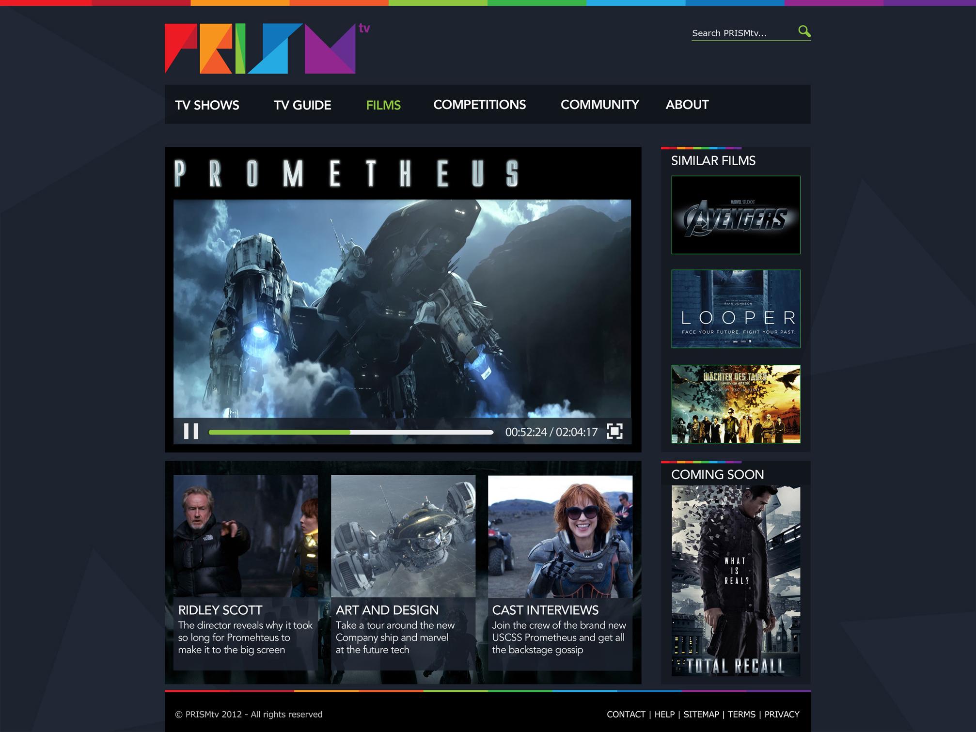 PRISMtv Film Page - Philip Norris