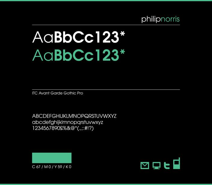 Philip Norris Identity Branding 005