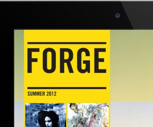 Forge Arts and Culture iPad Magazine Feature Image2