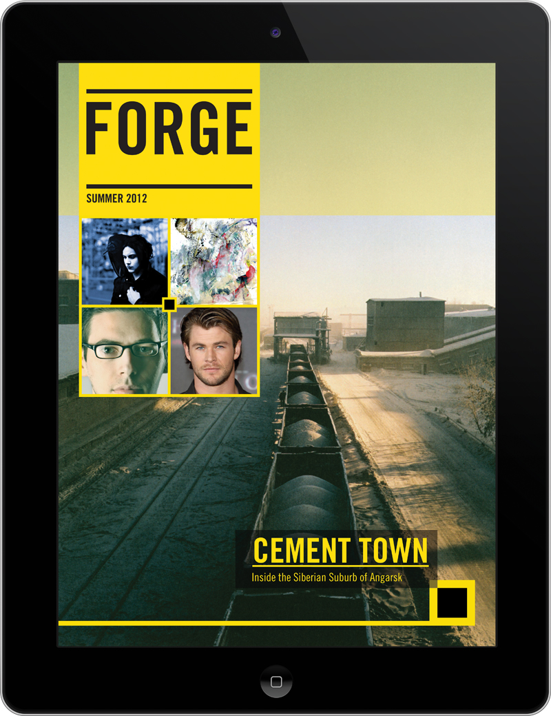 Forge Arts and Culture iPad Magazine 1 | Philip Norris