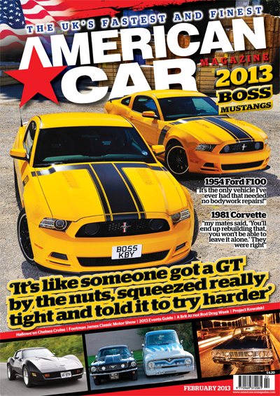 Philip Norris - American Car Magazine Issue 114 Cover