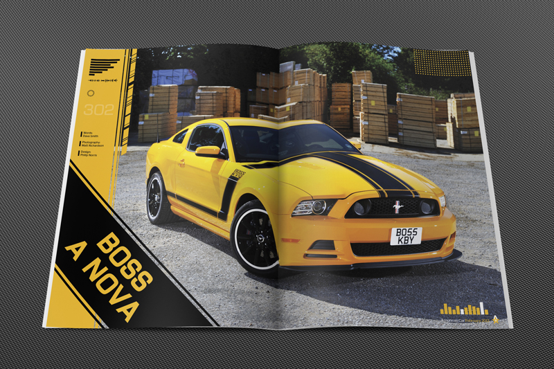 Philip Norris - American Car Magazine Issue 114 Boss 302