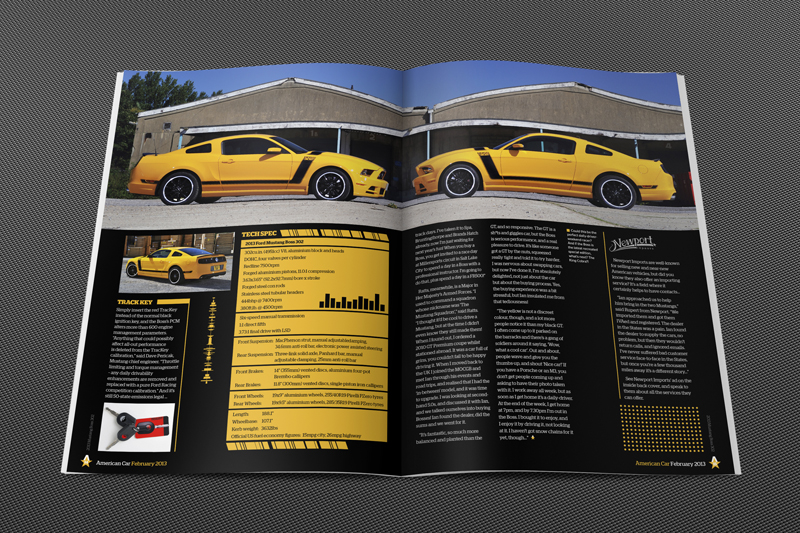 Philip Norris - American Car Magazine Issue 114 Boss 302 (4)