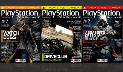 Playstation Magazine (UK) Redesign Feature Image