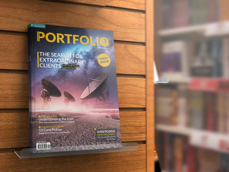 Personal Portfolio Magazine