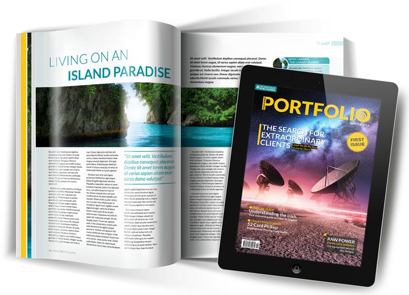 Philip Norris - Portfolio Magazine